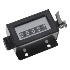 GOGO Mechanical Tally Counter, 5-Digit Desktop Clicker With Base