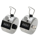 GOGO Wholesale 4 Digit Hand Tally Counter Metal Click Counter Manual Mechanical Click Counter