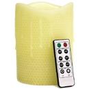 Keystone Candle LED-honey3 Remote Control 4 x 6 LED Candles Honeycomb