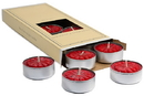 Keystone Candle TeaSc-RHC Red Hot Cinnamon Tea Lights