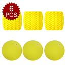 Aspire 6PCS Silicone Trivet Pot Holders, As Spoon Rest, Coaster, Heat Resistant