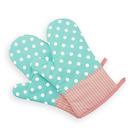 Aspire 2Pcs Kitchen Grilling Oven Mitts, Printed Gloves For Baking