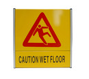 (Price / EA) Officeship Warning Sign Caution Wet Floor Sign, Yellow, 8.5