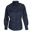5.11 Tactical 62064 Women's Pdu Long-Sleeved A-Class Twill Shirt, Small, Midnight Navy, Regular