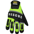 Ringers Gloves 347-10 Rescue Glove, Hi Vis, Large