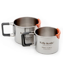 Kelly Kettle 50117 Camp Cups - Stainless