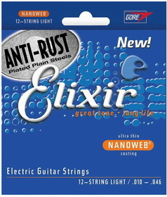 Elixir - Elixir Elec Anti Rust 12Str Lt, Price/PACK