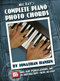 Mel Bay - Compl Piano Photo Chords Bk, Price/EACH