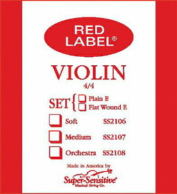 Super Sensitive - Sup-Sens Violin Stg Set 4/4