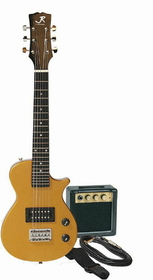 J Reynolds - Mini Elect Gtr Pkg- Gold, Price/EACH