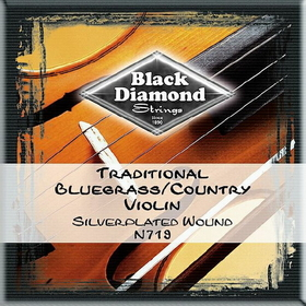 Black Diamond - Blk Diam Violin String Set