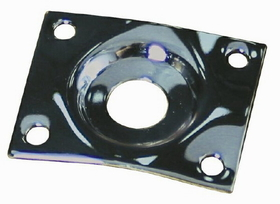 Retro Parts - Lp Jack Plate Chrome, Price/EACH