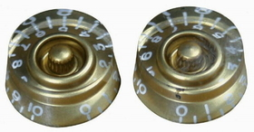 Retro Parts - Lp Speed Knobs 2Pk Gold, Price/PACK