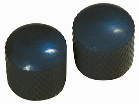 Retro Parts - Metal Knobs 2Pk Black, Price/PACK