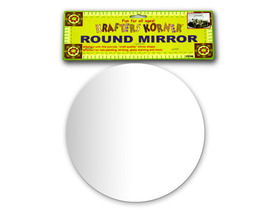 Round decorative craft mirror, Price/package