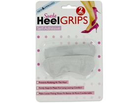 Suede heel grips, Price/package