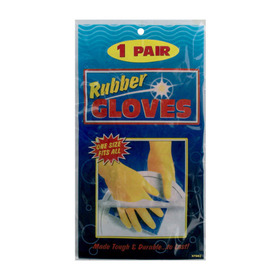 Deluxe rubber gloves, Price/package