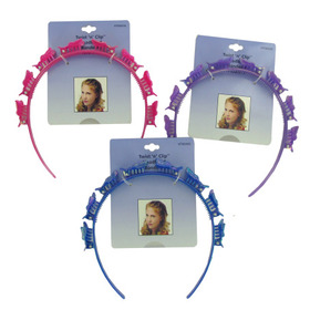 Butterfly twist and clip headband, assorted, Price/package