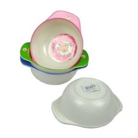 Melamine kid's bowl, assorted designs, Price/package