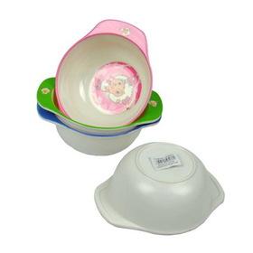 Melamine kid's bowl, assorted designs, Price/package