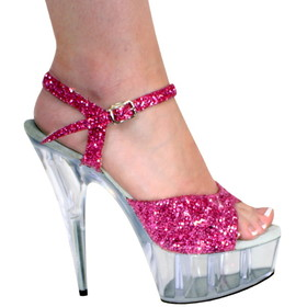 "Karo's Shoes 0032-G, approximately 6"" Heel"