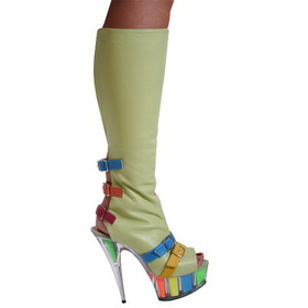 "Karo's Shoes 3239-K/H, approximately 6"" Heel"
