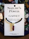 Garnet Pendant for Strengthening Bonds of Friendship and Love