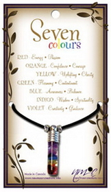 Chakra 7 Colours Pendant for Tuning the Body's Energy