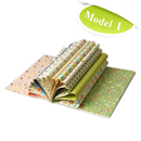 Aspire Gift Wrapping Paper Book, 16 Lovely Different Designs On 16 Sheets