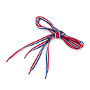 TopTie Three Color Striped Shoelaces, 45 Inch Long Multiple Choices, Price / Pair