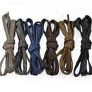 TopTie Flat Shining Shoelaces, Great for Leather Shooes, 35 Inch, Pair