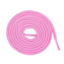 TopTie 60 Pairs Half Round Pink Shoelaces, Breast Cancer Awareness Color