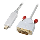 LINDY 41495 Mini DisplayPort to DVI-D Adapter Cable, 1m