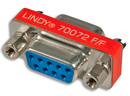 LINDY 70072 Mini Gender Changer 9 Way D Female/Female