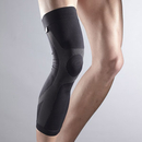 LP L272Z Knee Sleeve with Silicone- Black