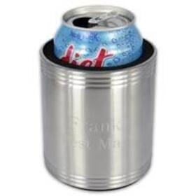 A + Lasering Personalized Stainless Steel Can Koozie