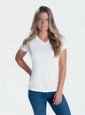 SubliVie 1507 Ladies V-Neck Polyester Tee