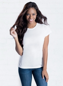 SubliVie 1510 Ladies Polyester T Shirt, Price/each