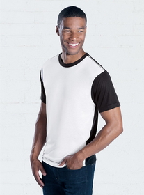 SubliVie 1902 Adult Blackout Polyester Tee, Price/each