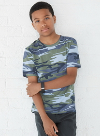 Code V 2206 Youth Camo T-Shirt, Price/each