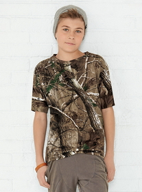 Code V 2280 Youth REALTREE Camo T-Shirt, Price/each