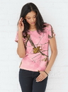 Code V 3685 Ladies REALTREE T-Shirt