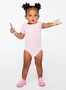 Rabbit Skins 4400 Infant Baby Rib Bodysuit