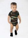 Code V 4403 Infant Camo Bodysuit