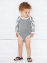 Rabbit Skins 4411 Infant Long Sleeve Bodysuit