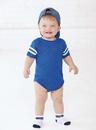 Rabbit Skins 4437 Infant Football Bodysuit