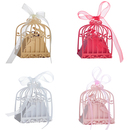 Aspire 50 Pcs / Pack Birdcage Party Favor Boxes Gift Wedding Favor Bomboniere Decor with Ribbons