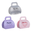Aspire 50 Pcs / Pack Wedding Favor Box Handbag Gift Boxes Candy Paper Party Boxes For Wholesale