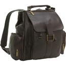 Le Donne Leather BP-01  Classic Multi Pocket Backpack