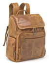 Le Donne Leather DS-4020  Distressed Leather  Laptop Backpack